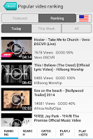 Screenshot of Music Player MUBO