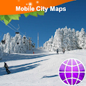 Calgary ski area Map icon