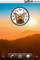 Screenshot of Sweet Yorkshire Clock