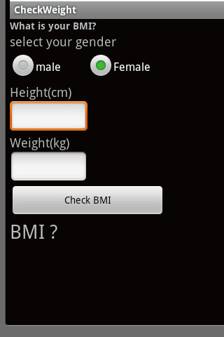 Check Weight