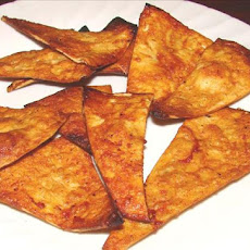 Baked Barbecue Tortilla Chips