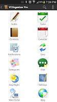 Screenshot of VCOrganizer Pro