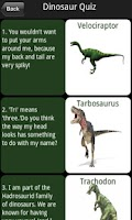 Screenshot of Silly Dinosaur Riddles