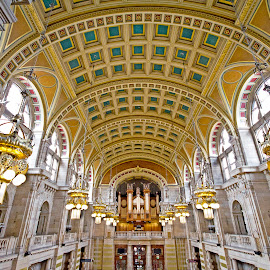 kelvingrove by Wendy Milne - Buildings & Architecture Public & Historical ( ornate, ceiling, glasgow, museum, kelvingrove )