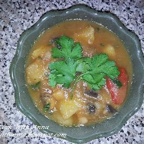 Potato And Mushroom Stew