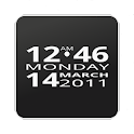 Big Clock Widget icon
