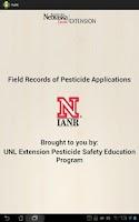 Screenshot of Pesticide Recordkeeping (PeRK)