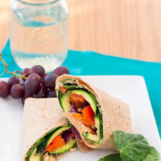 Grilled Vegetable Wrap Recipes