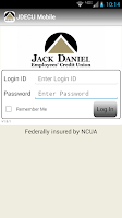 Screenshot of JDECU Mobile