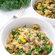 Chickpeas Kale And Quinoa Power Bowls