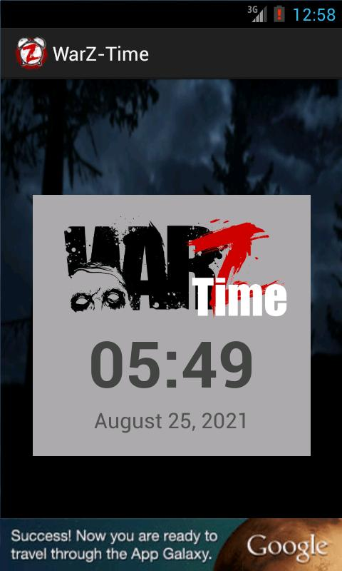 WarZ-Time Screenshot 1