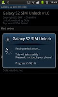 Screenshot of [root] Galaxy S2 SIM Unlock
