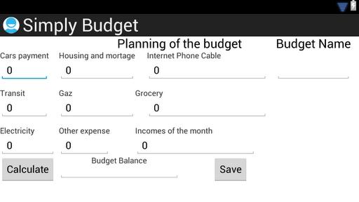 Simply Budget