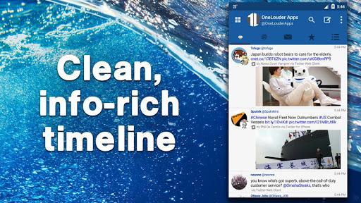 TweetCaster for Twitter - screenshot