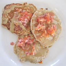 Blood Orange Ricotta Pancakes With Coconut And Ginger