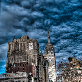 Empire State by Dave Toro - Buildings & Architecture Public & Historical