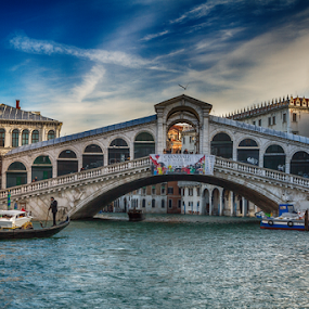 Rialto Bridge by Felea Adina - Buildings & Architecture Bridges & Suspended Structures ( rialto, venice, bridge, italy, island )
