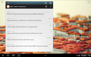 Screenshot of BaseBall - News & Trade rumors