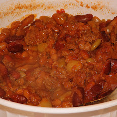 Crock Pot Ground Beef and Beans