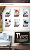 Screenshot of TVBox