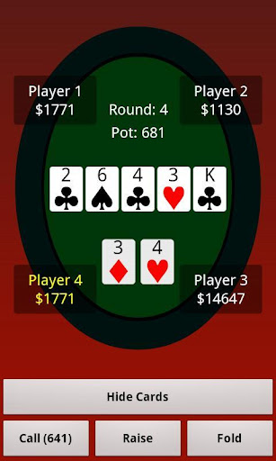 【免費紙牌App】Texas Holdem 4 Friends Pro-APP點子