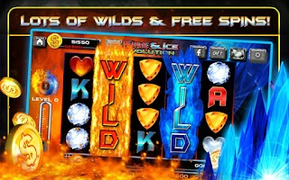 Screenshot of Fire and Ice Real Casino Slots