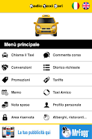 Screenshot of RadioTaxiBari