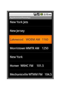 New York (J) Football Radio - screenshot