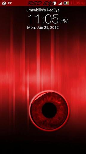 紅眼 - 的HTC Sense 3.6皮膚