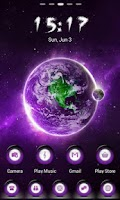 Screenshot of MyPurple Go Launcher Theme