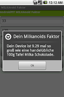 Screenshot of Milkanoid Faktor