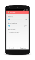 Screenshot of TimeLapse