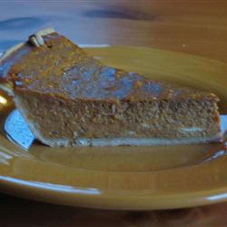Spiced Pumpkin Pie Recipe | Yummly