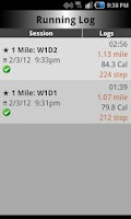 Screenshot of C25K Running AccuTrainer-Pro