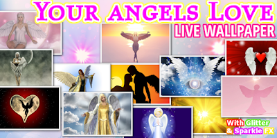 Screenshot of FREE ANGELS LIVE WALLPAPER HD
