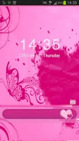 Screenshot of Locker Theme Pink Heart