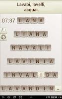 Screenshot of Gioco di parole in italiano
