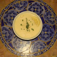 Greek Lemon Soup—Avgolemono