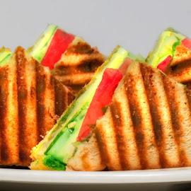 Sandwich1 by Rahul Phutane - Food & Drink Plated Food ( sandwich, bread, food, eat, tost,  )