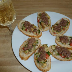 Eggplant Caviar With Tapenade