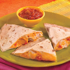Nacho Cheesy Quesadillas