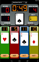 Screenshot of Four By 21 Blackjack