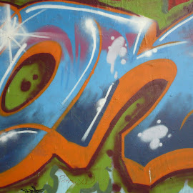 Graffiti by Drago Ilisinovic - City,  Street & Park  Neighborhoods