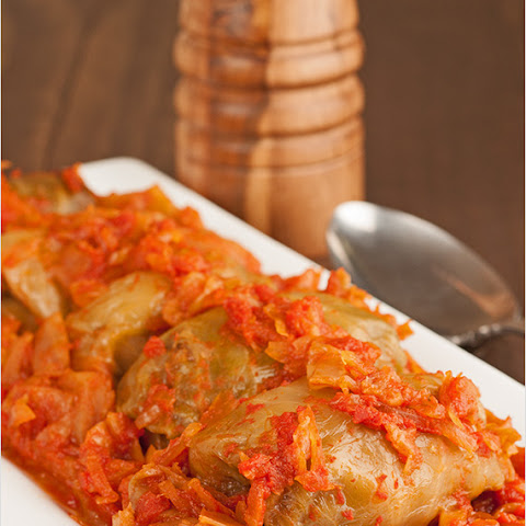 Hungarian-Style Stuffed Cabbage Rolls