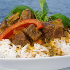 Red Curried Lamb