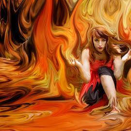by Tanya Hilliker - Illustration Sci Fi & Fantasy