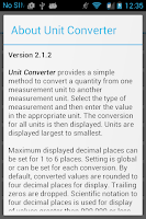 Screenshot of Unit Converter