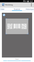 Screenshot of Mobiletag QR & product Scanner