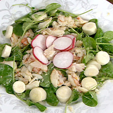 Peekytoe Crab Hearts of Palm Salad
