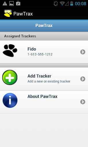 PawTrax - screenshot